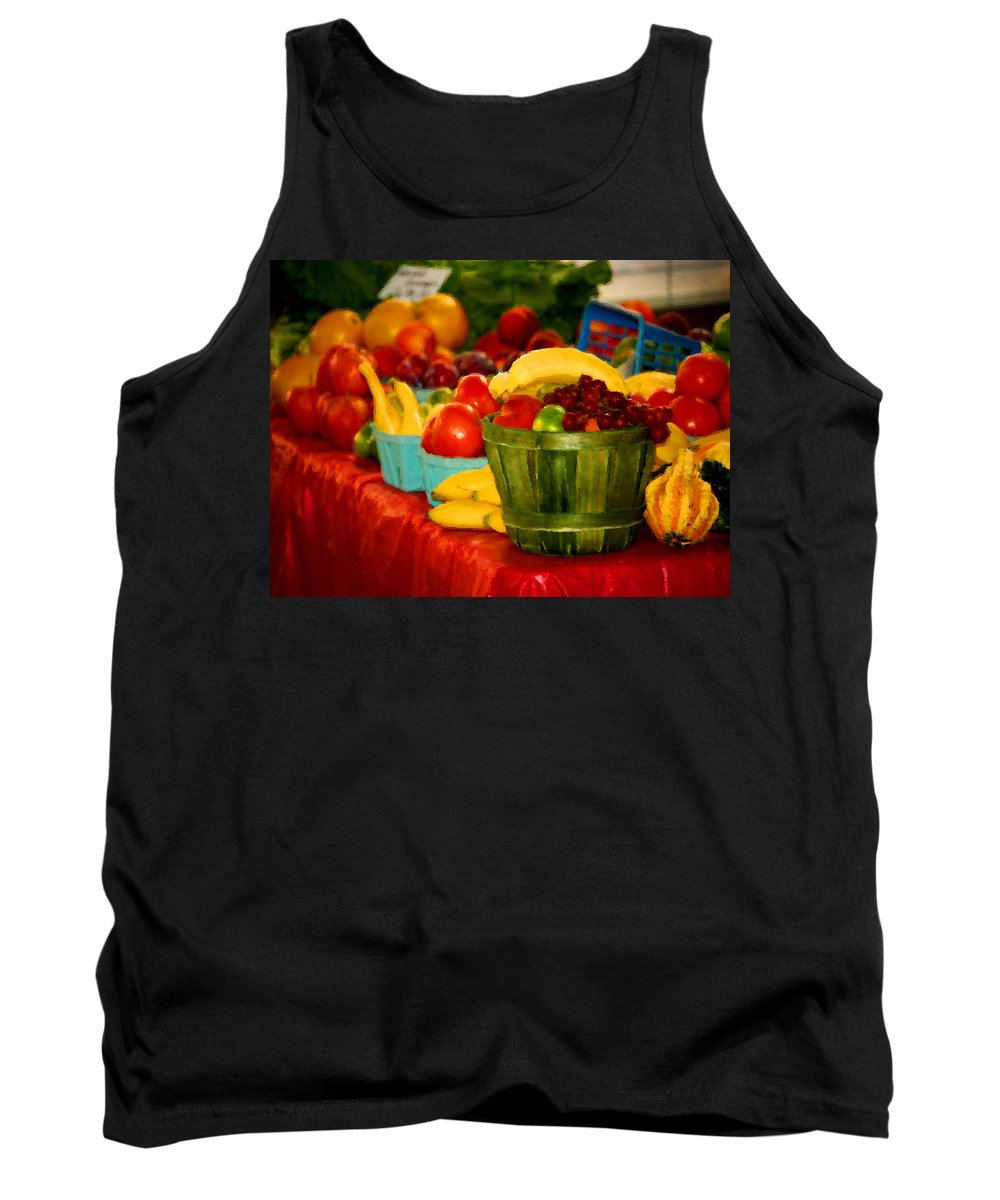 Tractors Tank Top featuring the digital art Colors Of Alabama by Michael Thomas