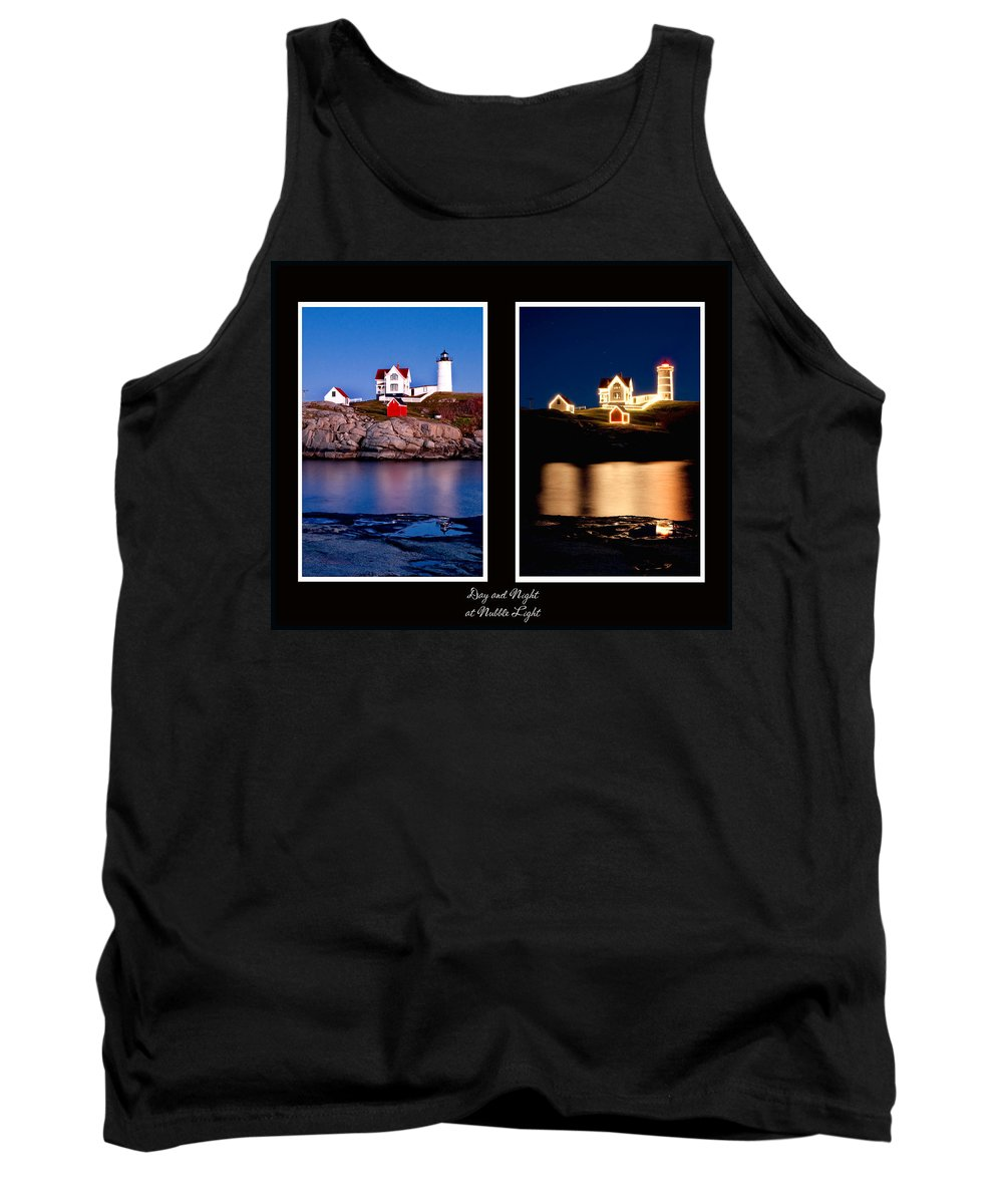 Nubble Tank Top featuring the photograph Combined Nubble by Greg Fortier