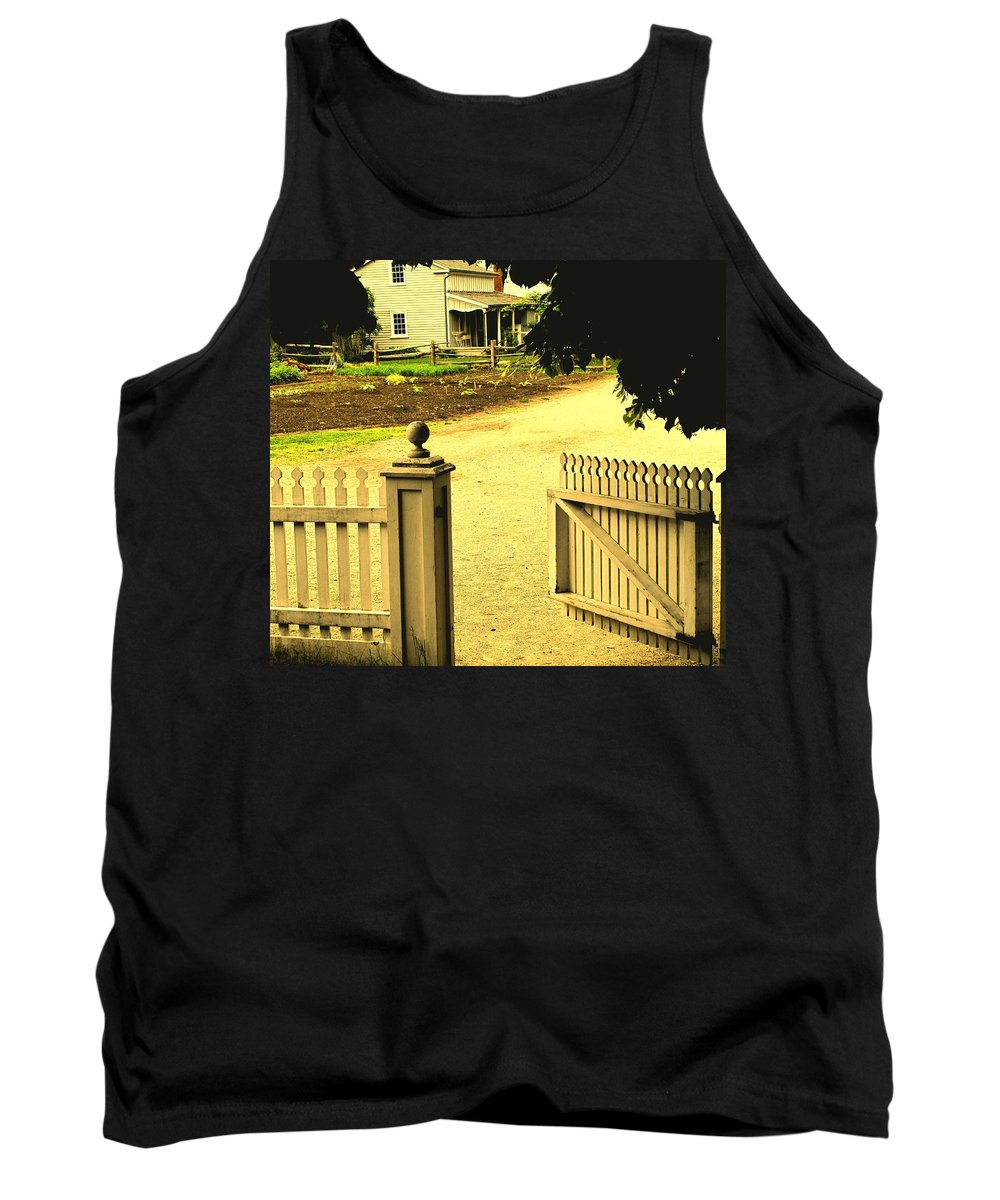Farm Tank Top featuring the photograph Come On In by Ian MacDonald