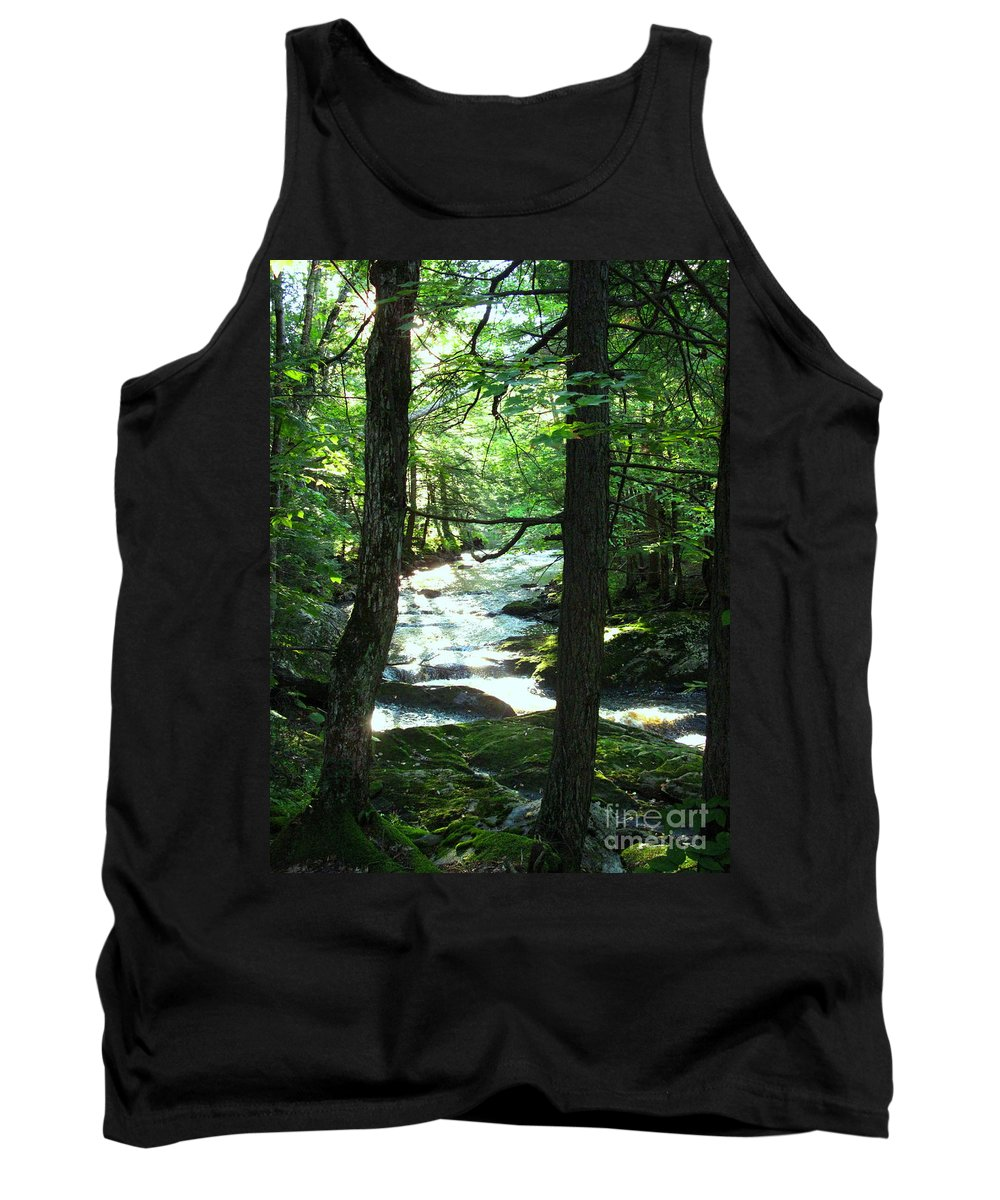 Water Tank Top featuring the photograph Peace And Comfort by Sybil Staples