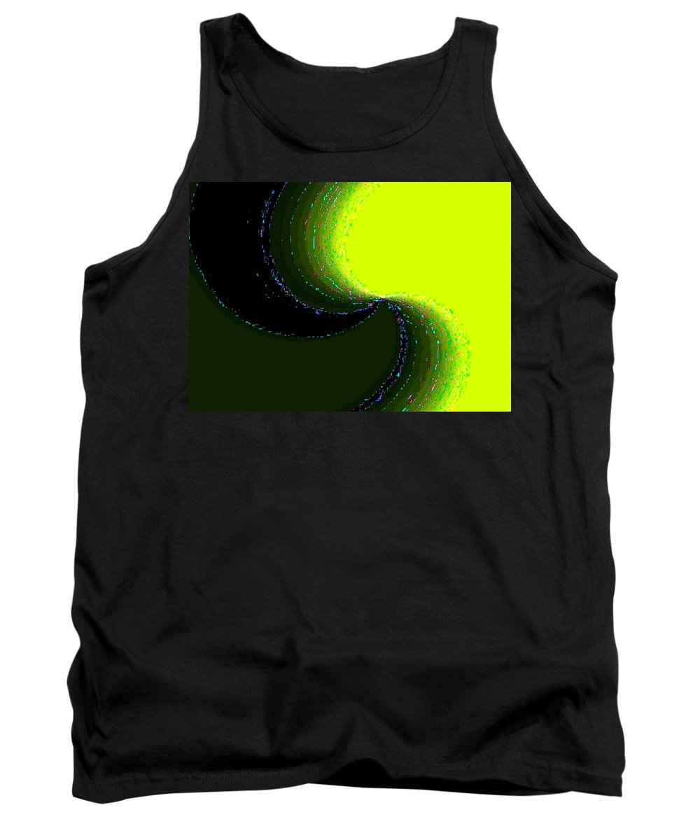 Organic Tank Top featuring the digital art Conceptual 5 by Will Borden