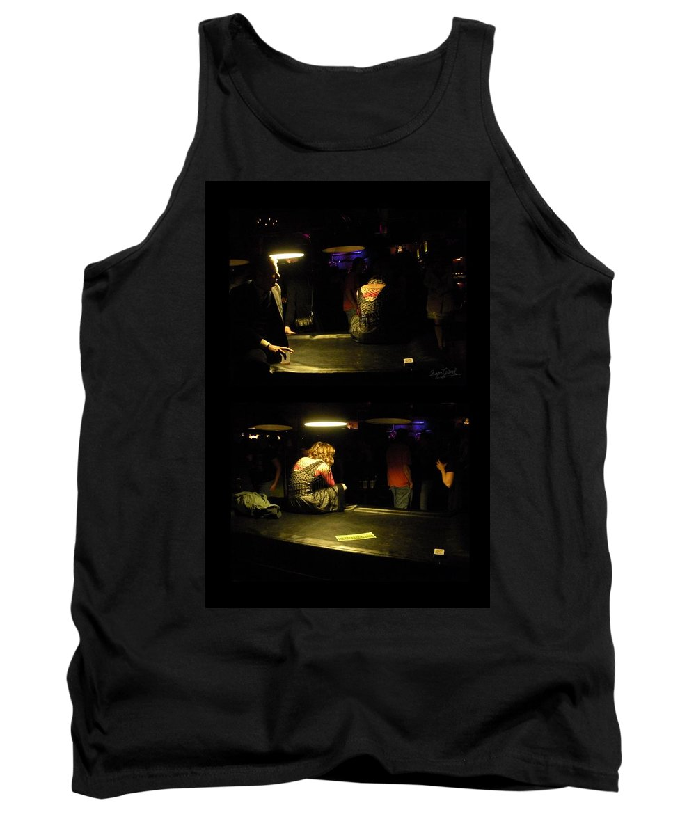 Love Tank Top featuring the photograph Conflicted Emotions by Zafer Gurel