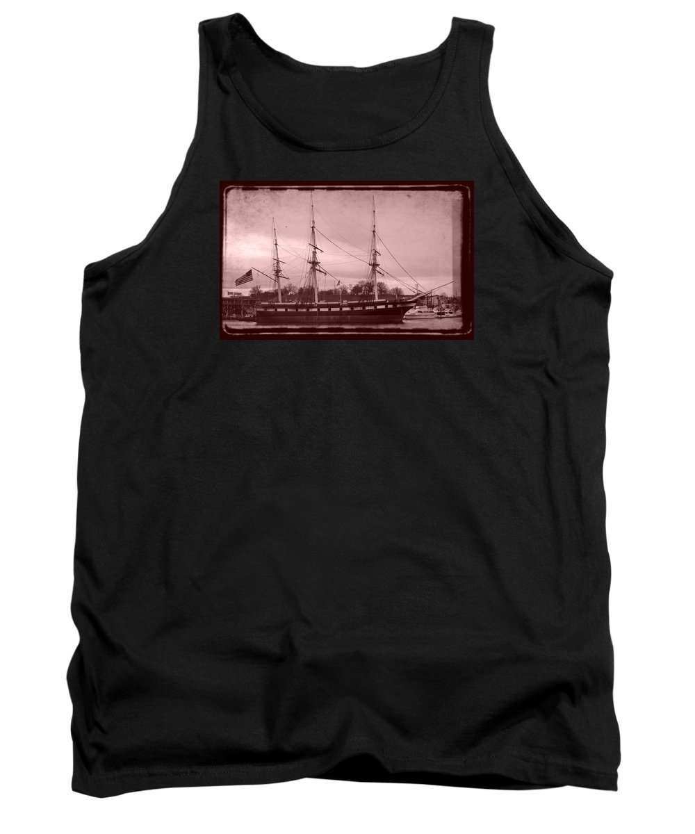 Baltimore Tank Top featuring the photograph Constellation Returns - Old Photo Look by William Bartholomew