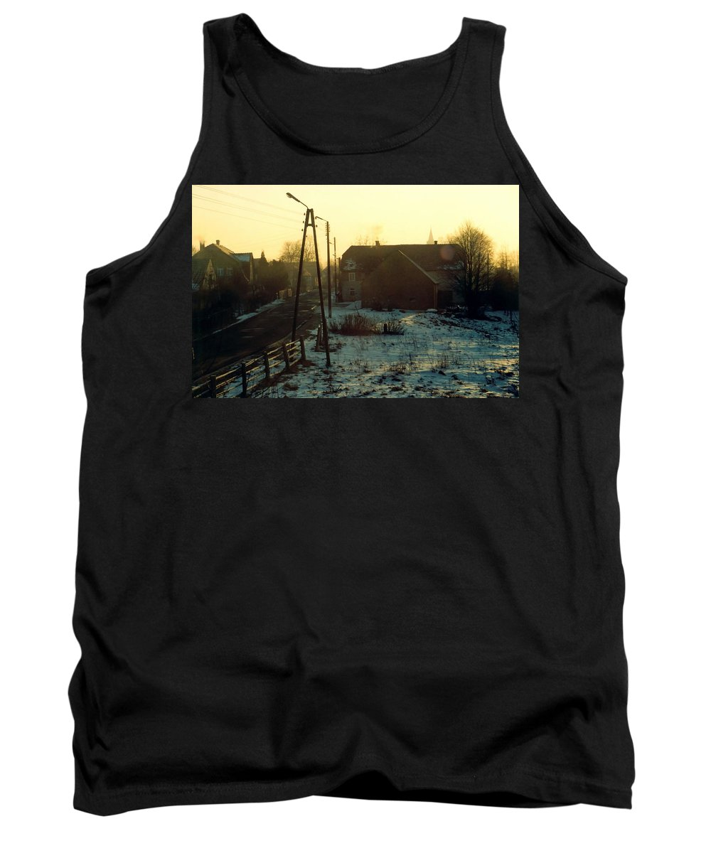 Country Tank Top featuring the photograph Country Morning by Marcin and Dawid Witukiewicz