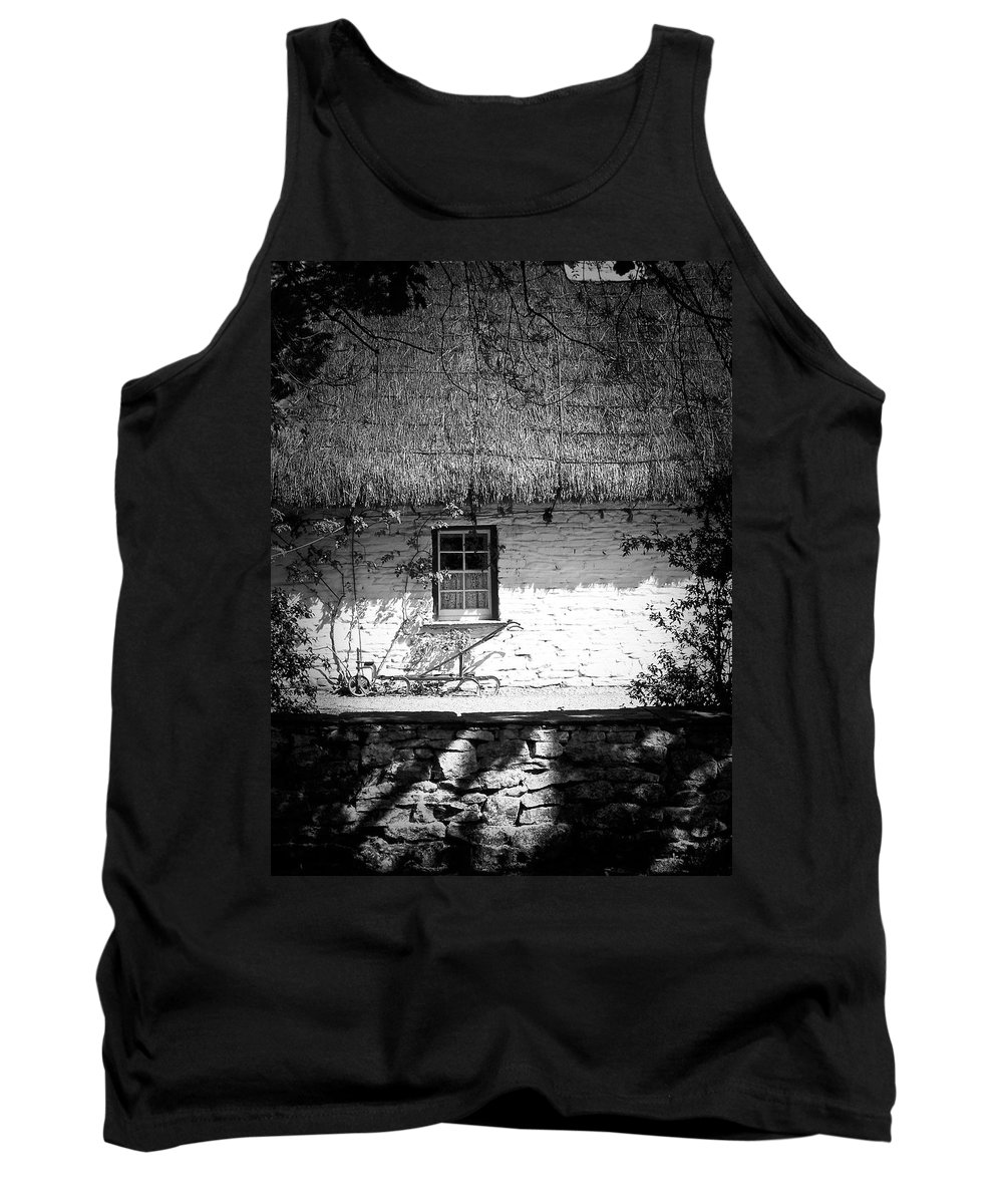Irish Tank Top featuring the photograph County Clare Cottage Ireland by Teresa Mucha