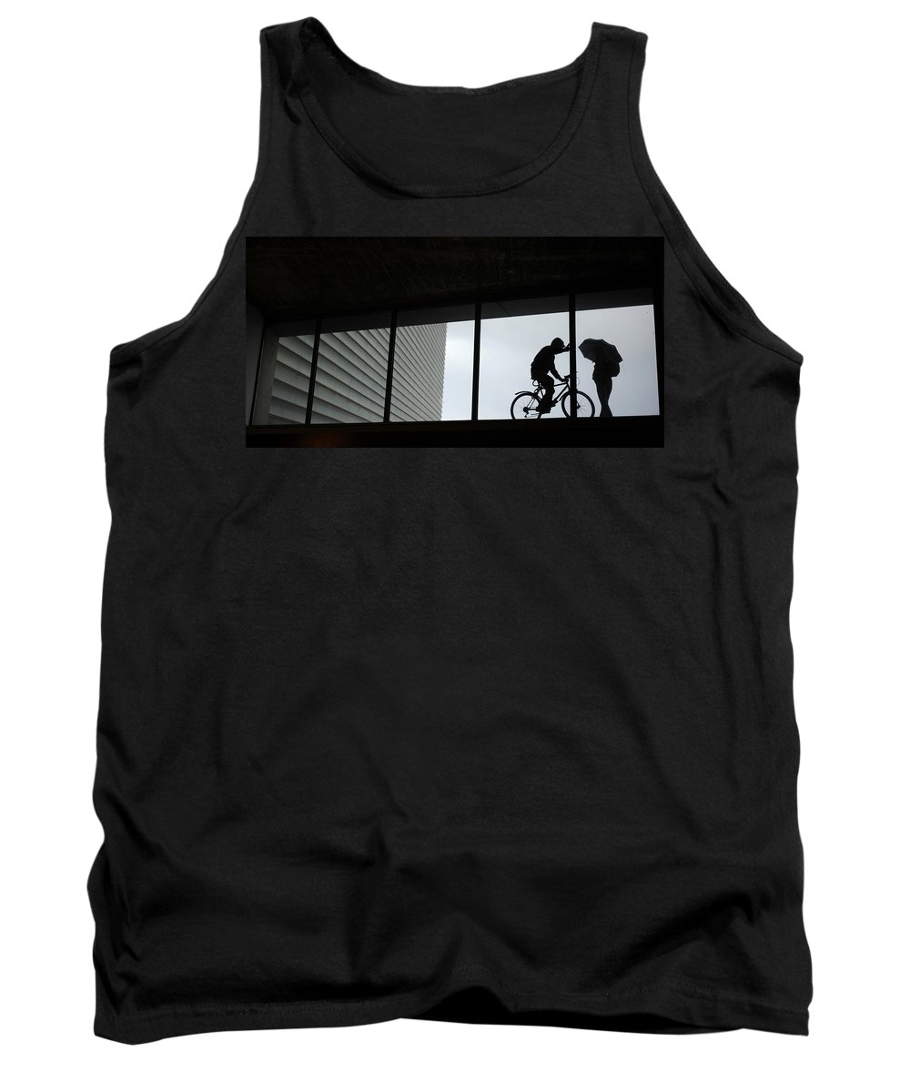 Spain Tank Top featuring the photograph Couple At The Window by Rafa Rivas