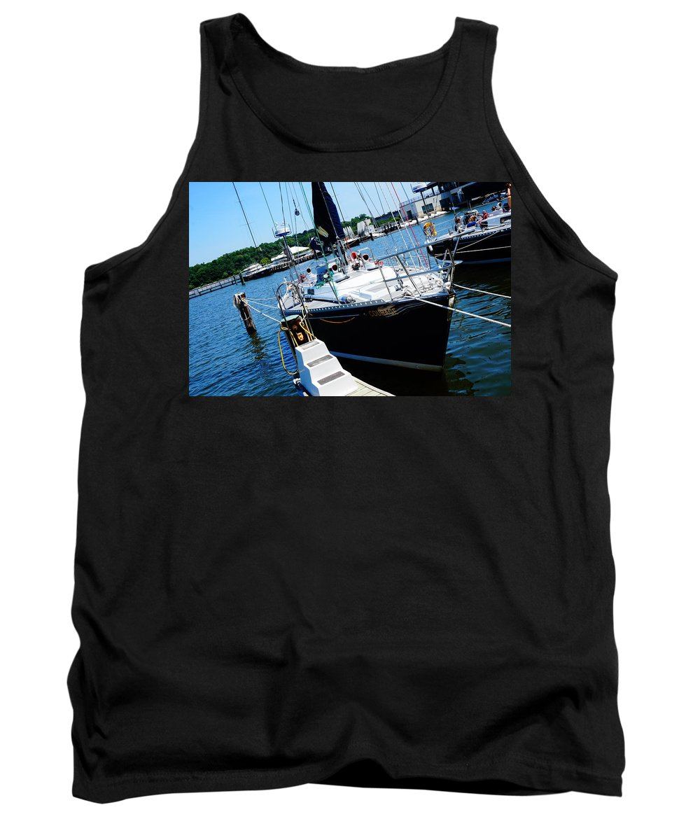 Annapolis Tank Top featuring the photograph Courage by Beth Deitrick
