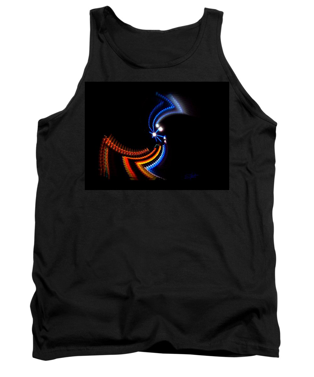 Chaos Tank Top featuring the photograph Crazy Dancer by Charles Stuart