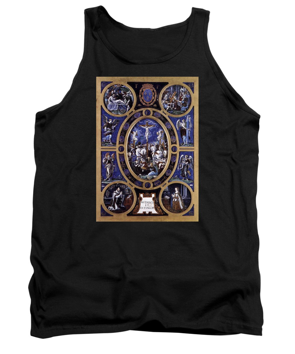 L�onard Limosin Tank Top featuring the photograph Crucifixion by Roy Pedersen