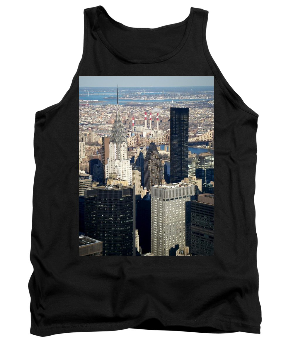 Crystler Building Tank Top featuring the photograph Crystler Building by Anita Burgermeister