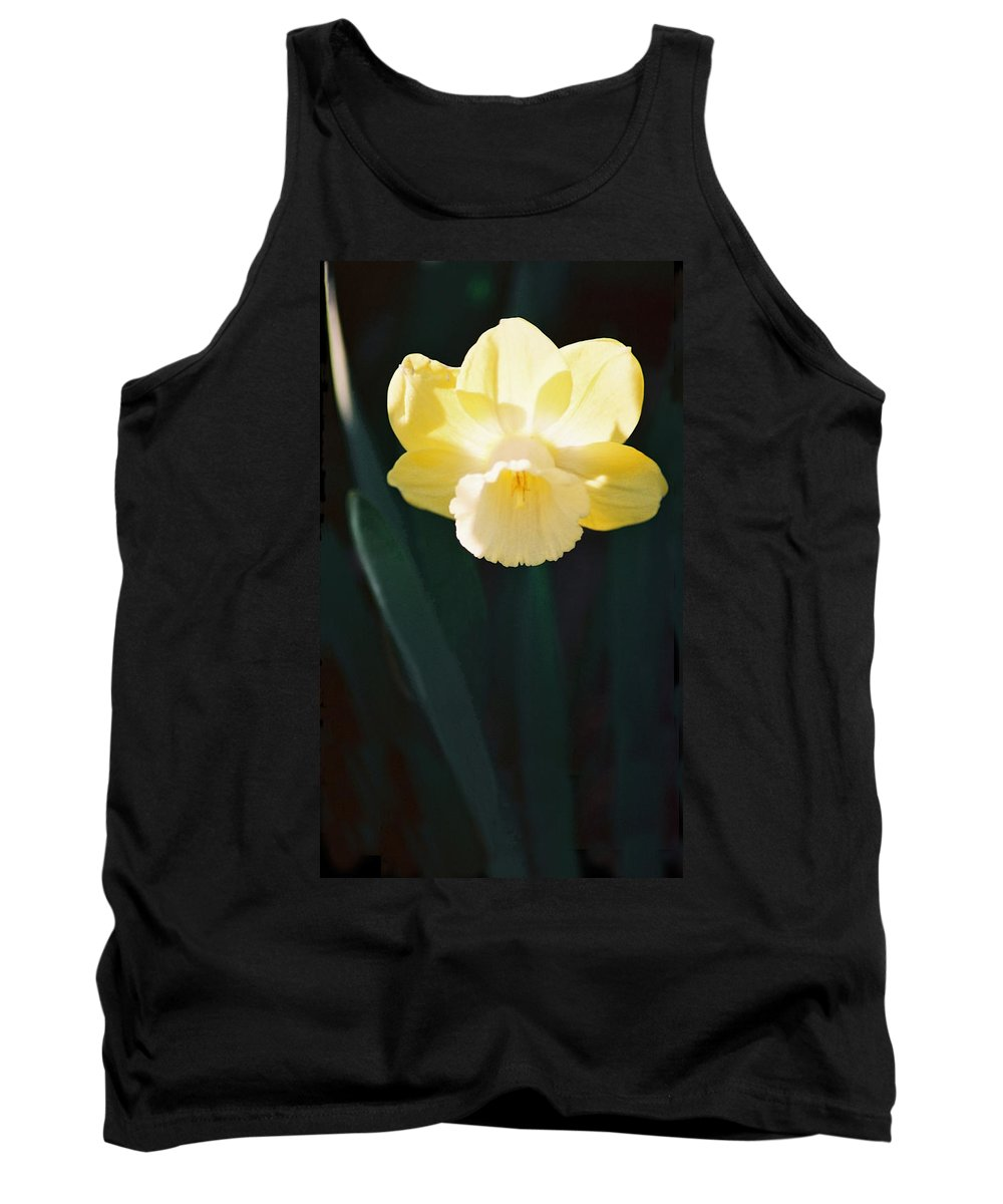 Daffodil Tank Top featuring the photograph Daffodil by Steve Karol