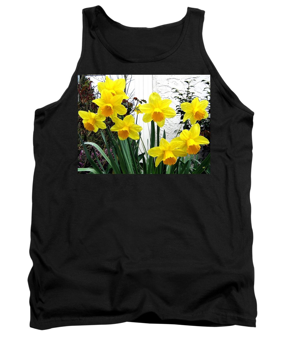Daffodils Tank Top featuring the photograph Daffodils by Will Borden