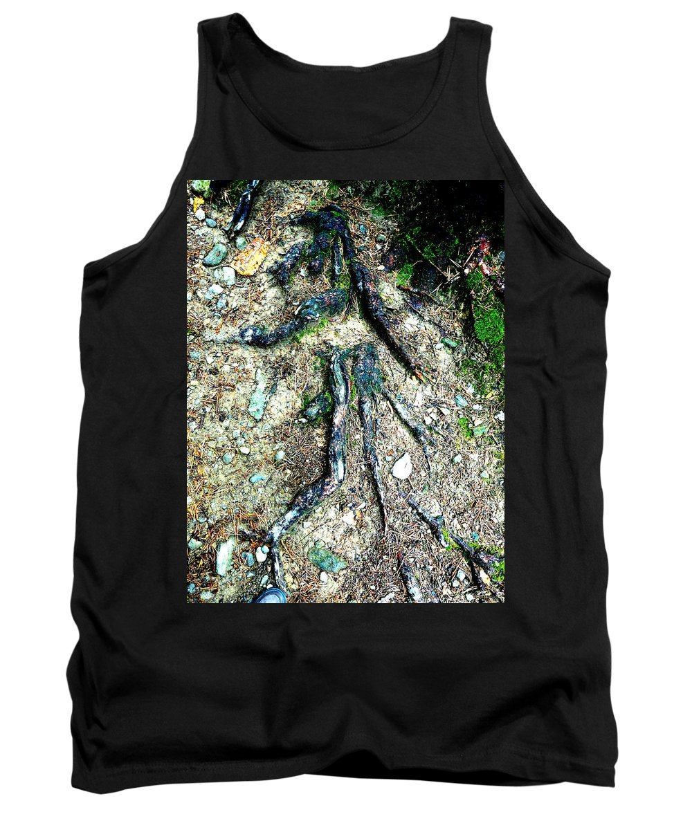 Roots Tank Top featuring the photograph Dancer by Valerie Ornstein