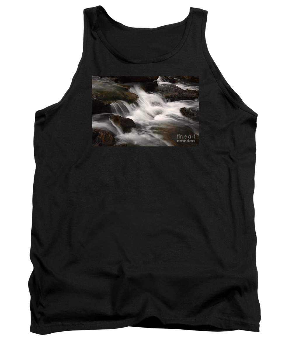 Water Tank Top featuring the photograph Dancing Waters 4 by Bob Christopher