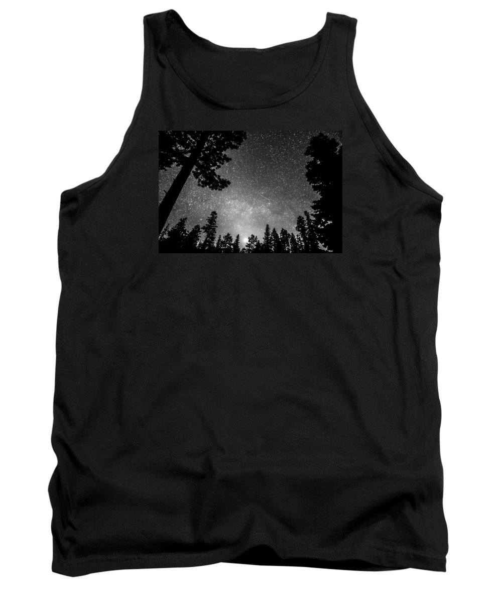 Sky Tank Top featuring the photograph Dark Stellar Universe by James BO Insogna