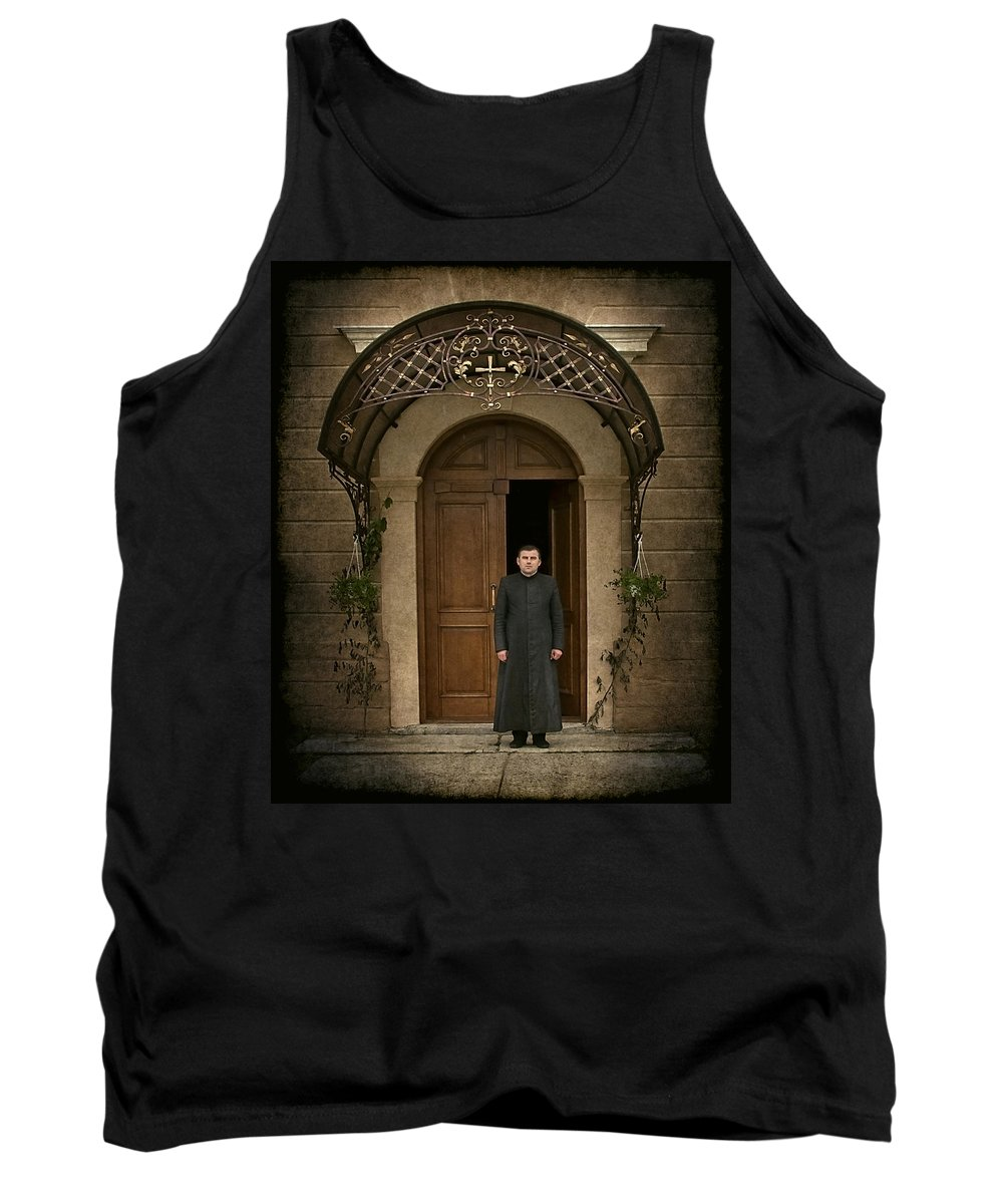 Father Tank Top featuring the photograph Dear Father... by Evelina Kremsdorf