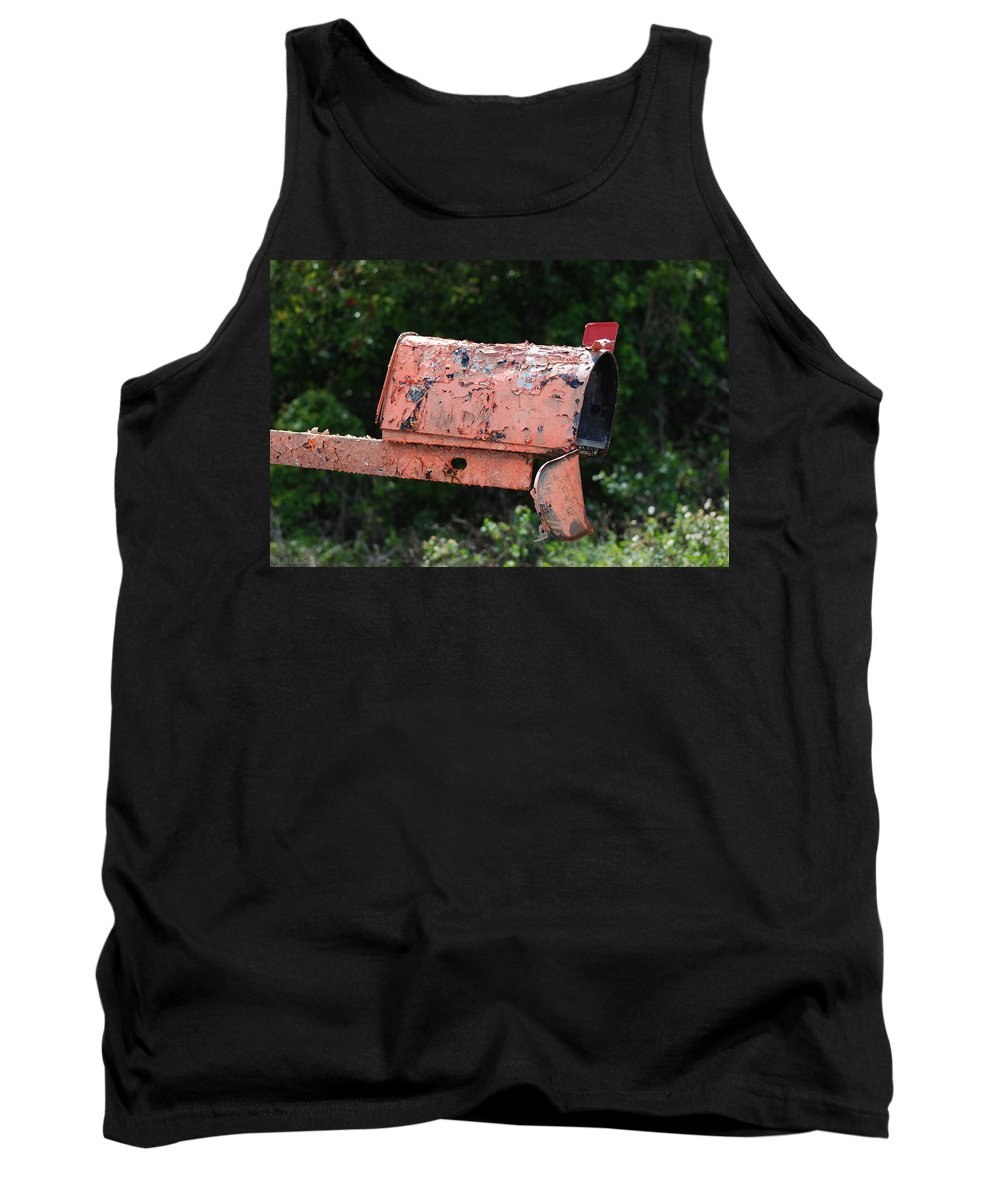 Country Scene Tank Top featuring the photograph Death By E Mail by Rob Hans