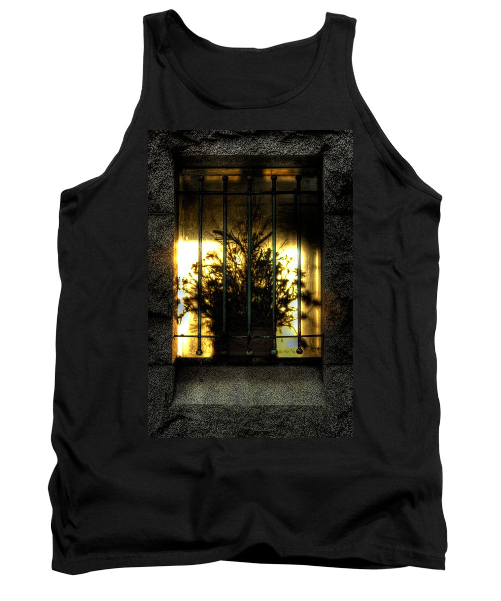 Flower Tank Top featuring the photograph Death's Nursery by Scott Wyatt
