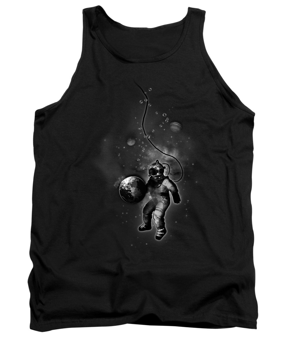 Planets Tank Tops