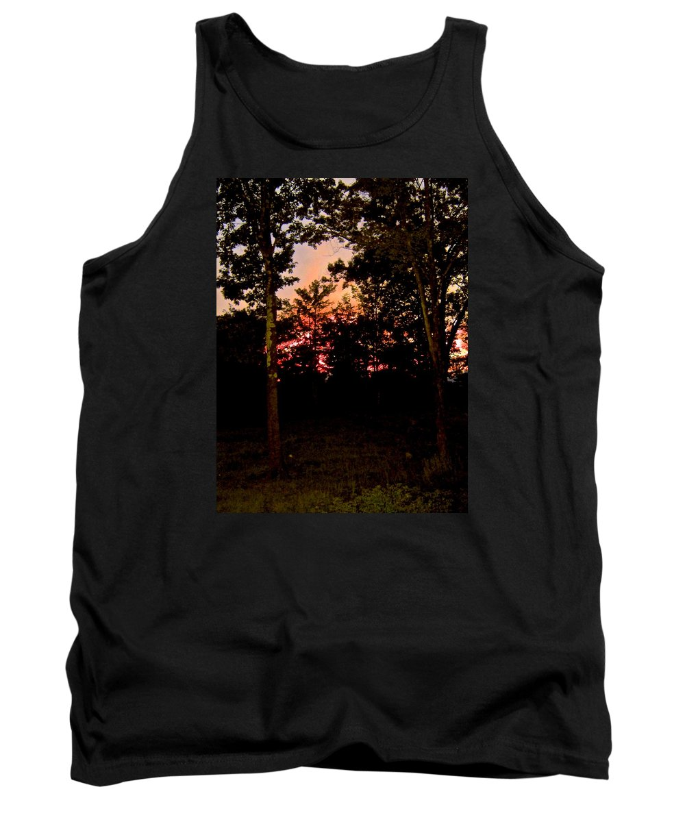Tank Top featuring the photograph Deep Song, Like A Nightingale In Mourning by Elizabeth Tillar