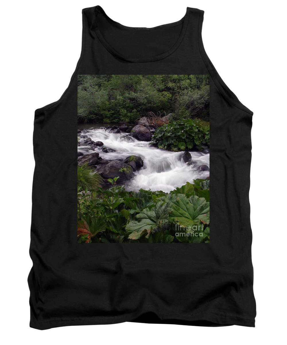 Creek Tank Top featuring the photograph Deer Creek 07 by Peter Piatt