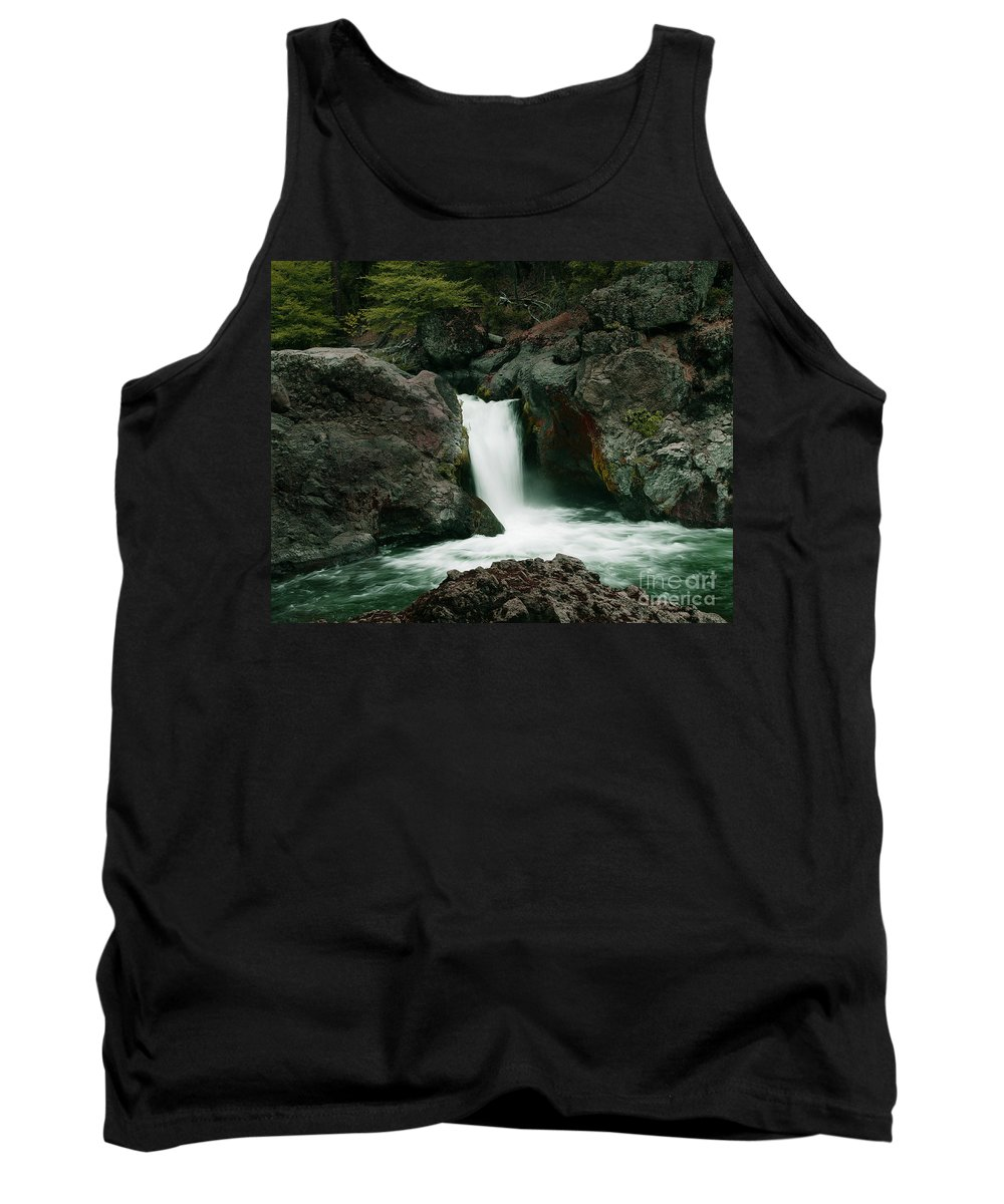 Creek Tank Top featuring the photograph Deer Creek Falls by Peter Piatt