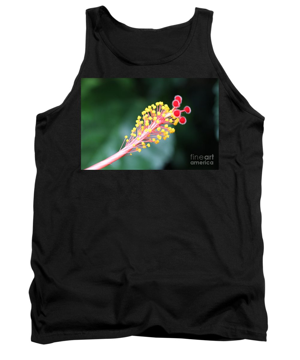 Tank Top featuring the photograph Delicate by Diane Greco-Lesser