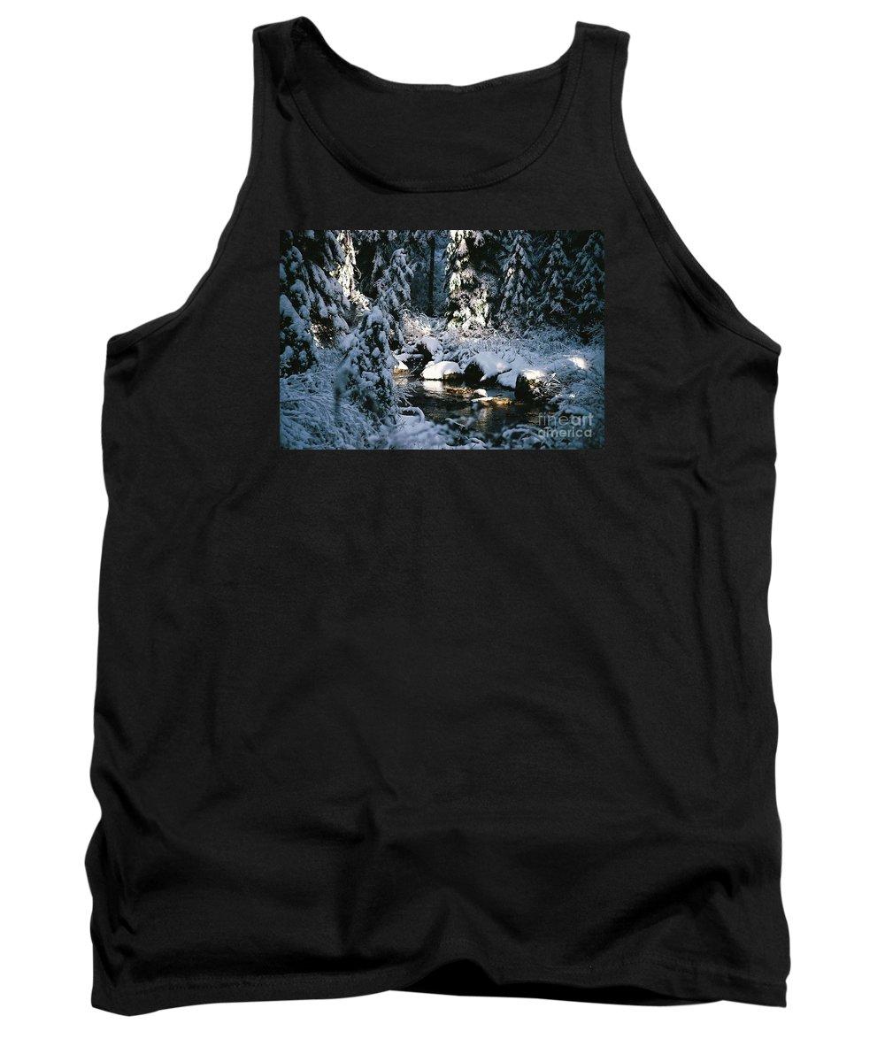 Landscape Tank Top featuring the photograph Denny Creek by John Huntsman