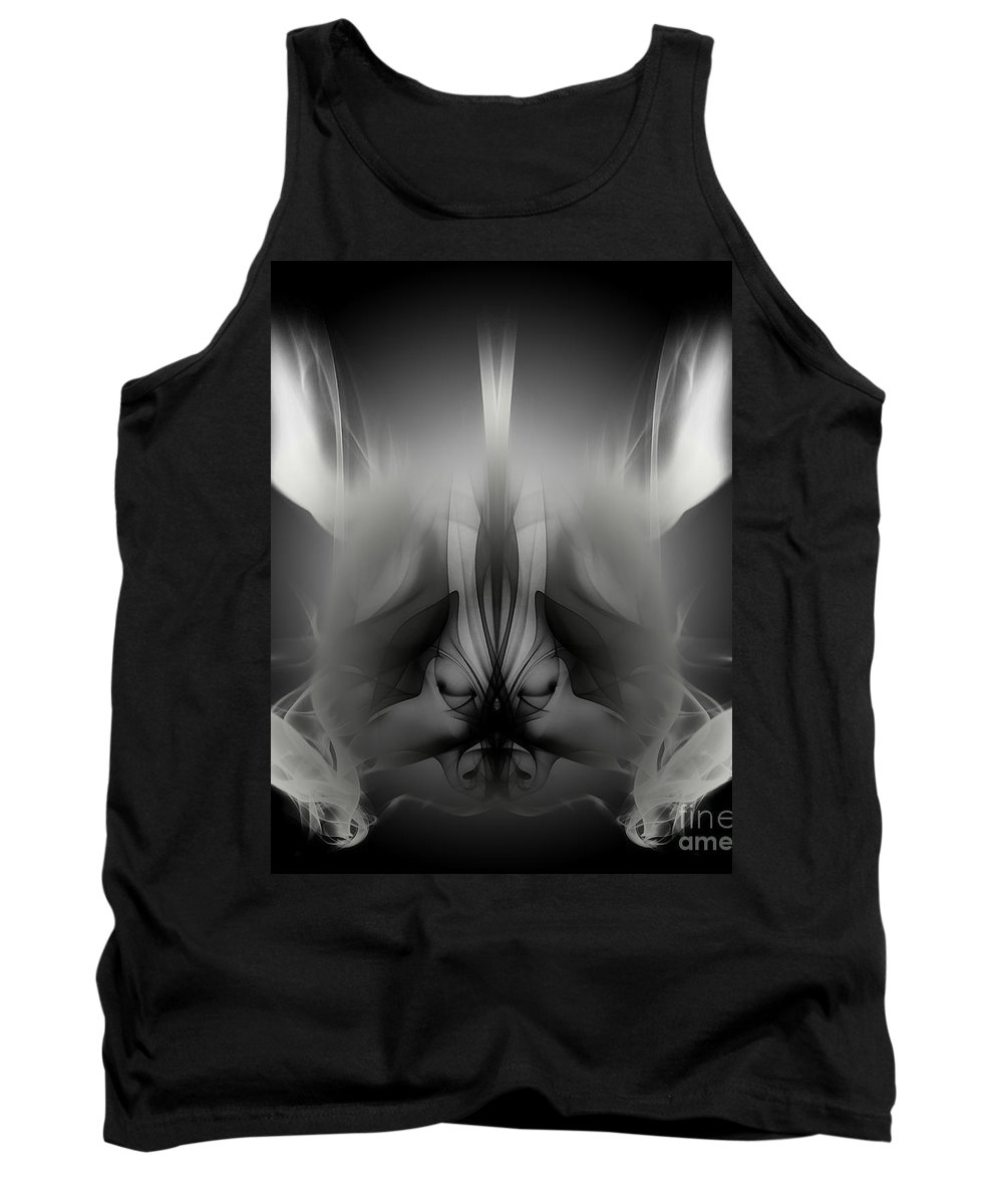 Clay Tank Top featuring the digital art Descent by Clayton Bruster