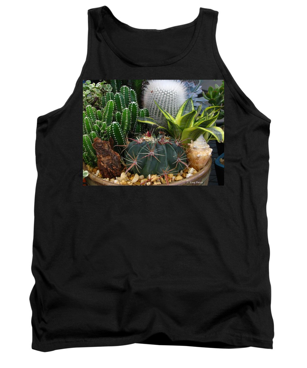 Art For The Wall...patzer Photography Tank Top featuring the photograph Desert Art by Greg Patzer