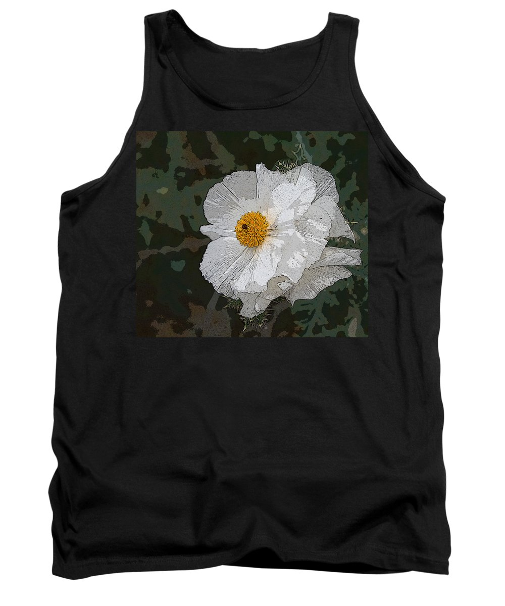Desert Tank Top featuring the photograph Desert Poppies by Marna Edwards Flavell