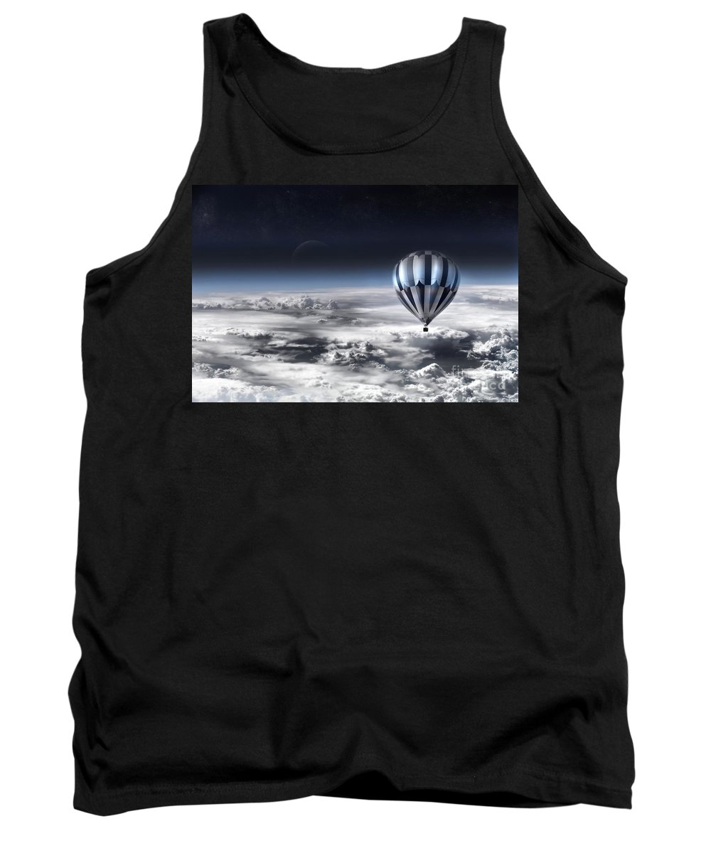 Sky Tank Top featuring the photograph Destiny by Jacky Gerritsen