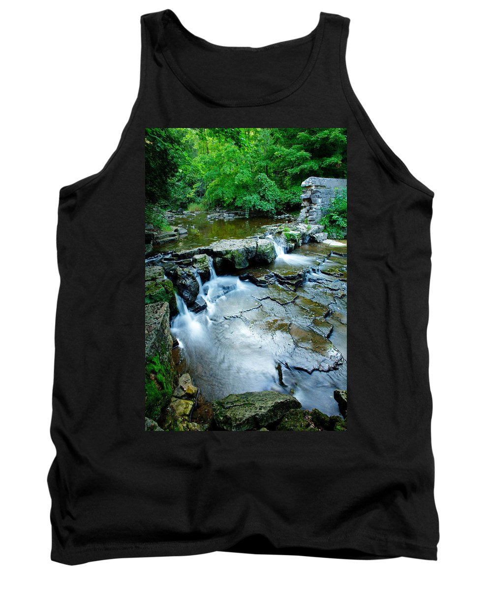 Summer Tank Top featuring the photograph Devils River 1 by David Heilman