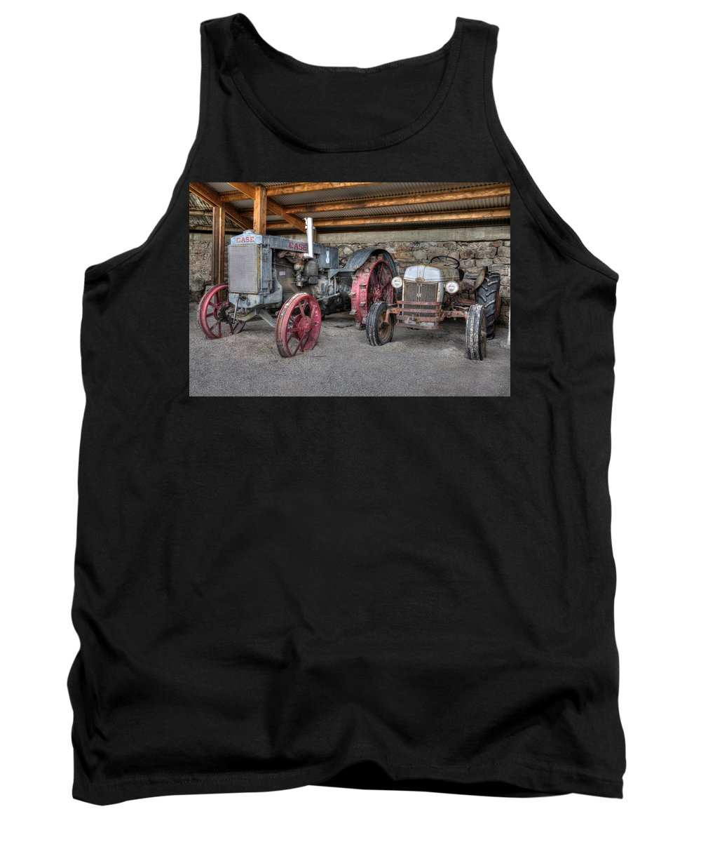 Tractor Tank Top featuring the photograph Different Era, Same Purpose by Michael Morse