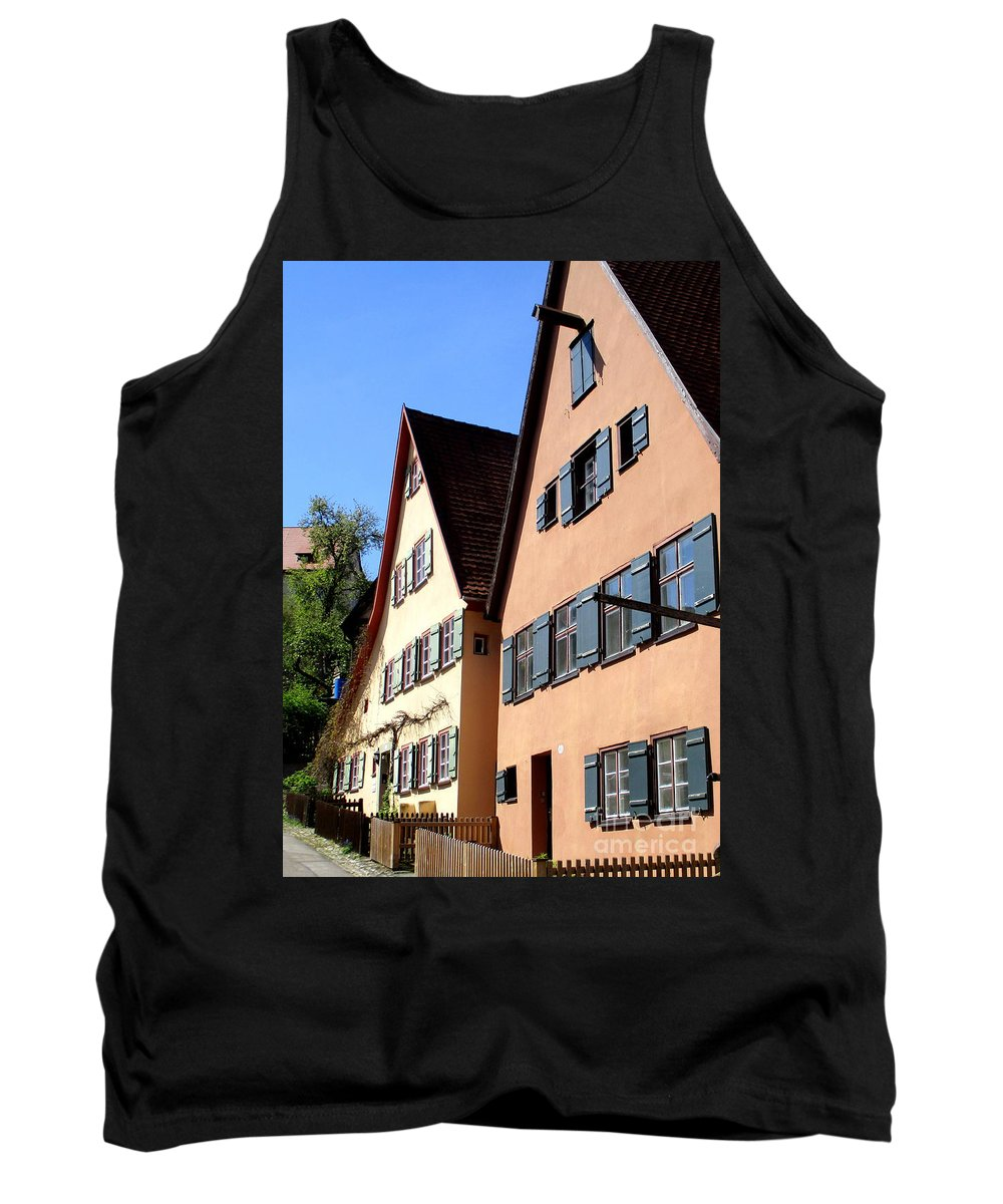 Dinkelsbuhl Tank Top featuring the photograph Dinkelsbuhl 16 by Randall Weidner