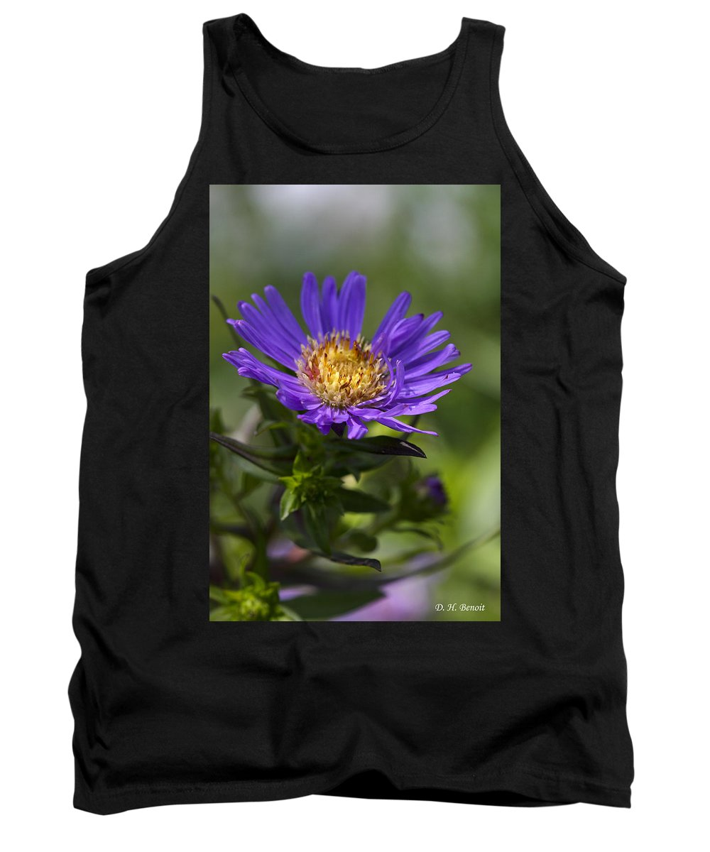 Flower Tank Top featuring the photograph Display Of Softness by Deborah Benoit