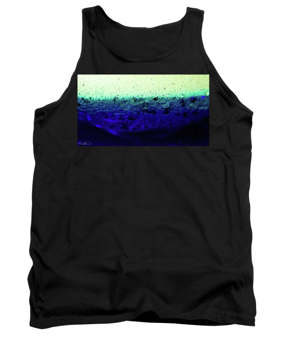 Abstract Tank Top featuring the photograph Divine by Brandy Stinchcomb