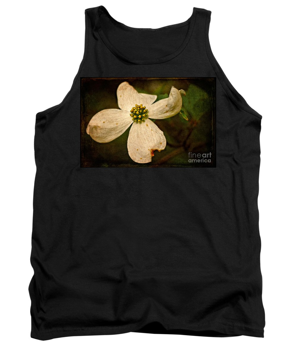 Dogwood Tank Top featuring the photograph Dogwood by Lois Bryan