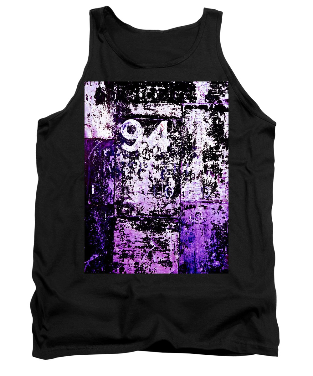Abstract Tank Top featuring the photograph Door 94 Perception by Bob Orsillo