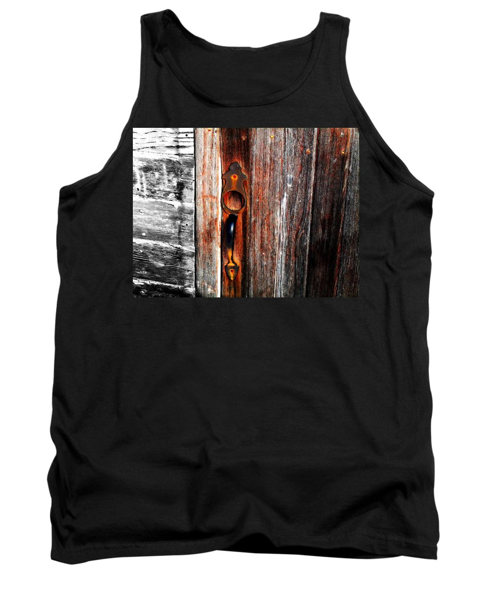 Wood Tank Top featuring the photograph Door To The Past by Julie Hamilton