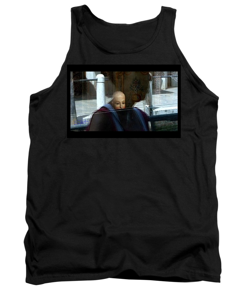 Venice Tank Top featuring the photograph Dorsodouro by Charles Stuart