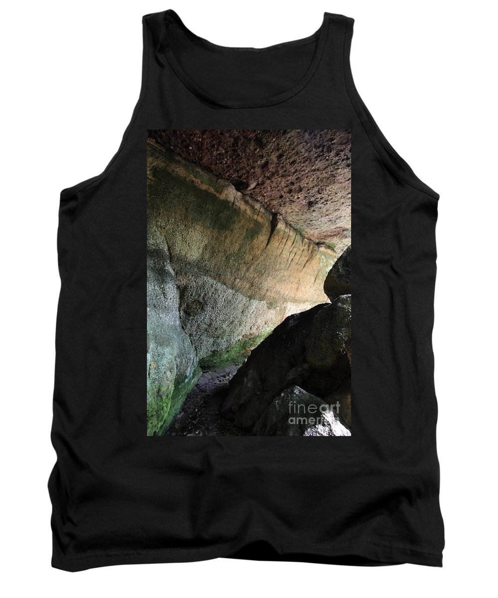 Stone Tank Top featuring the photograph Dove In Flight by Amanda Barcon