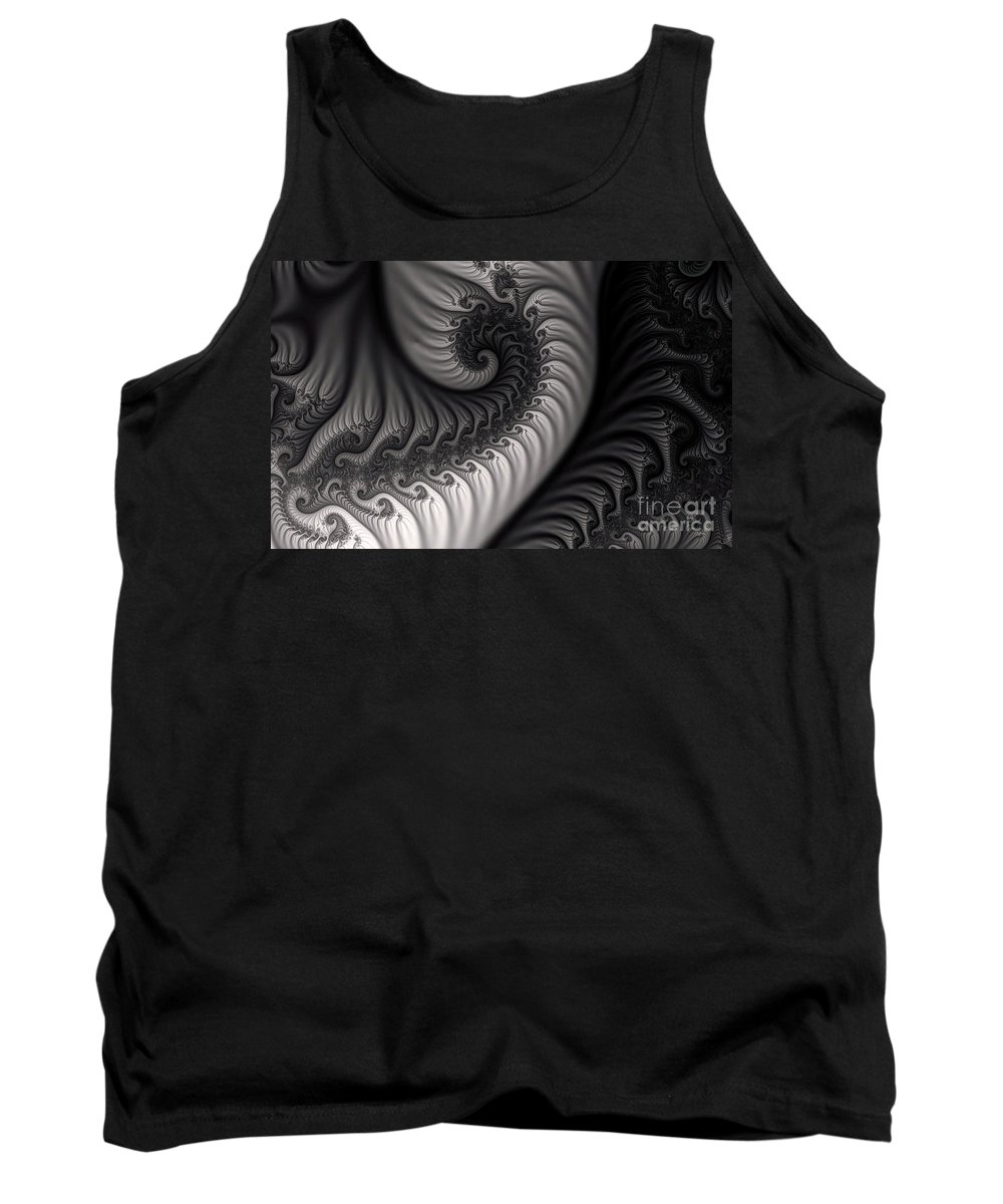 Clay Tank Top featuring the digital art Dragon Belly by Clayton Bruster