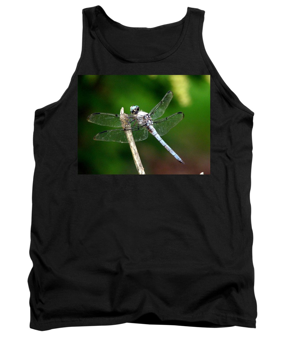 Dragonfly Tank Top featuring the photograph Dragonfly 12 by J M Farris Photography
