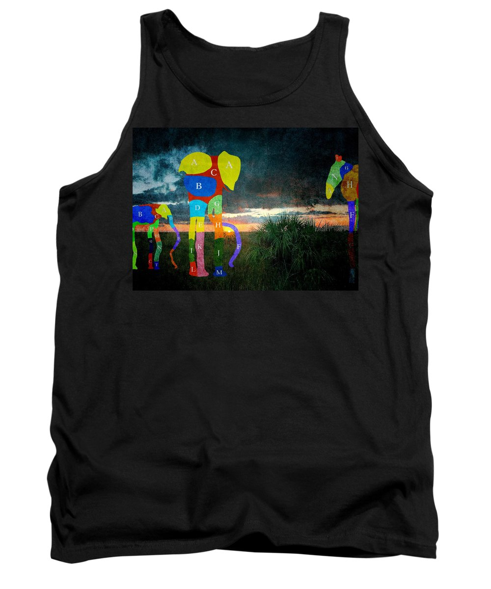 Landscape Tank Top featuring the photograph Dream-3 by Rudy Umans