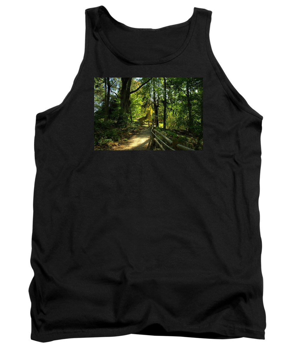Dreamland Tank Top featuring the photograph Dreamland by Lilia D
