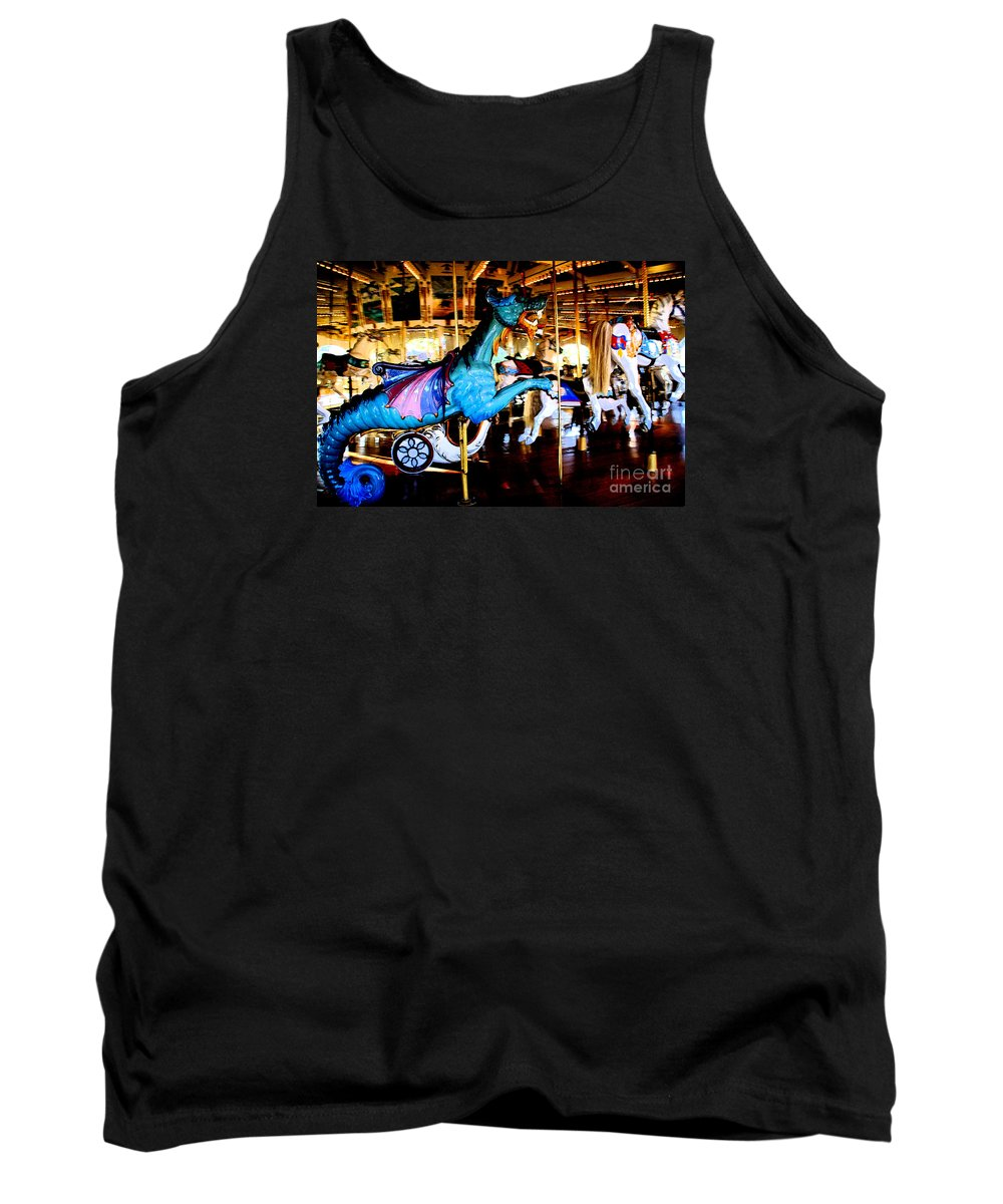 Carousel Tank Top featuring the photograph Dreams Take Flight by Linda Shafer