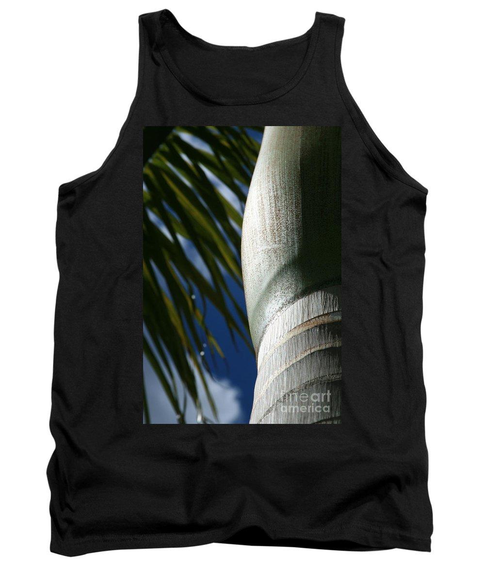 Palm Trees Tank Top featuring the photograph E Hawaii Aloha E by Sharon Mau