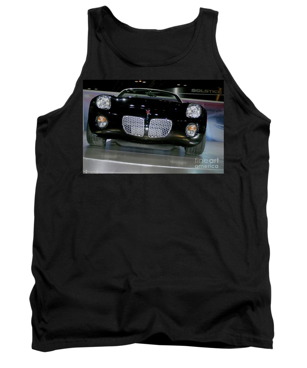 Aluminum Tank Top featuring the photograph Eager by Alan Look