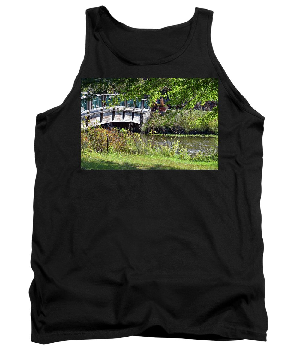 Fall Tank Top featuring the photograph Early Fall by Linda Benoit